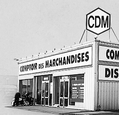 façade de CDM