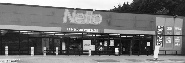 façade Netto