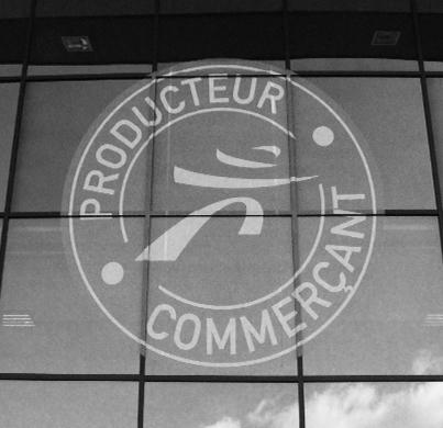 Logo producteur commerçant