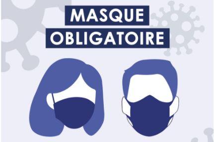 "Vignette ""masque obligatoire"""