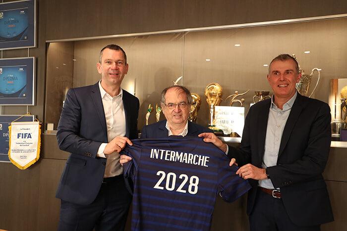 Intermarché partenaire de la FFF jusqu'en 2028